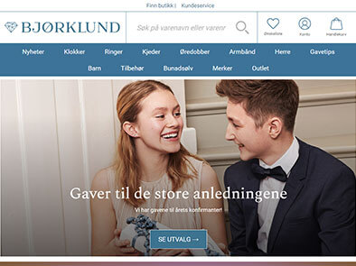 Bjørklund skjermbilde