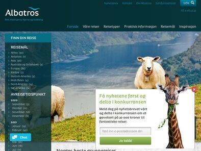 Albatros skjermbilde
