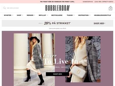 Bubbleroom skjermbilde