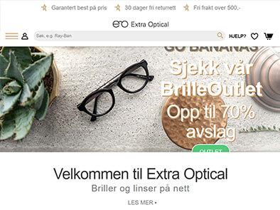 Extra Optical skjermbilde
