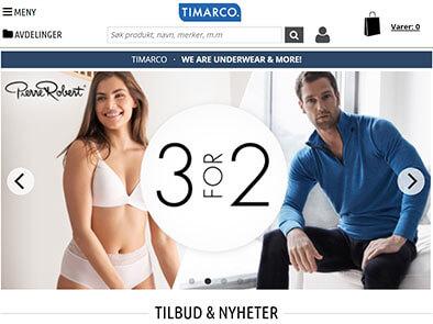 Timarco skjermbilde