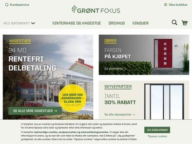 Grønt Fokus skjermbilde
