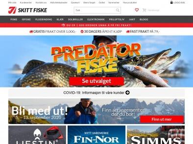 Skitt Fiske skjermbilde