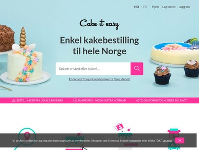Cake It Easy skjermbilde