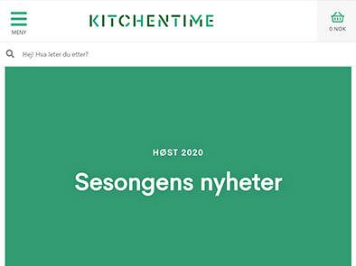 KitchenTime skjermbilde