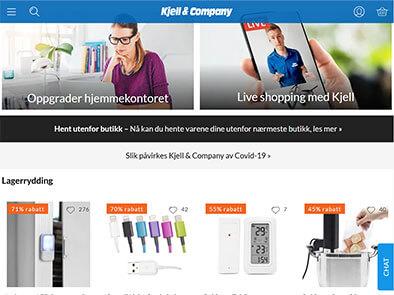 Kjell & Company skjermbilde
