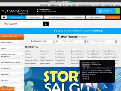 MyTrendyPhone skjermbilde