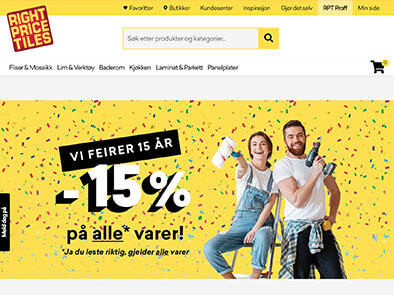 Right Price Tiles skjermbilde