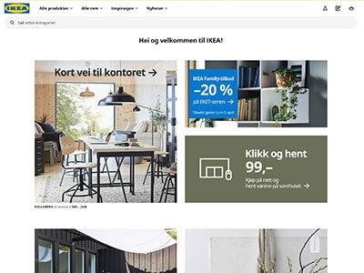 IKEA skjermbilde