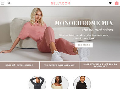 Nelly skjermbilde