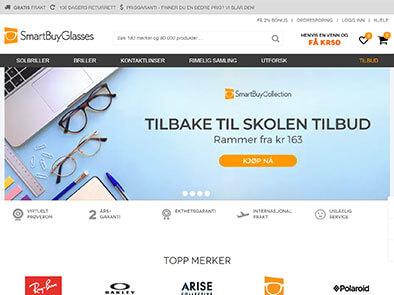 SmartBuyGlasses skjermbilde