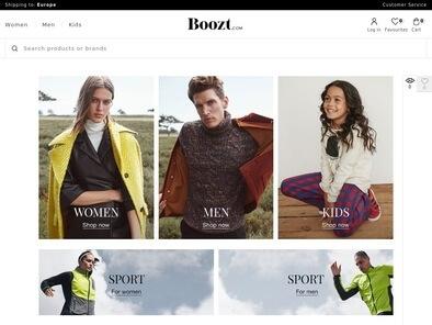 Boozt.com skjermbilde