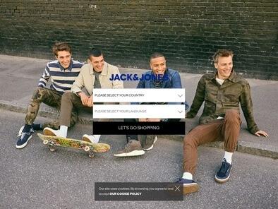 JACK & JONES skjermbilde