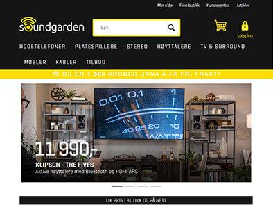 Soundgarden skjermbilde