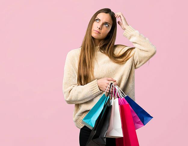 Shopping spørsmål