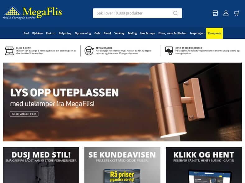 MegaFlis skjermbilde