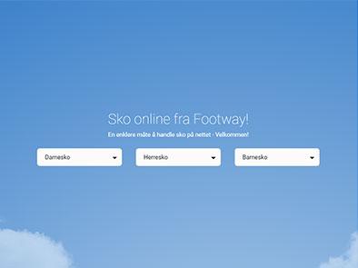 Footway skjermbilde