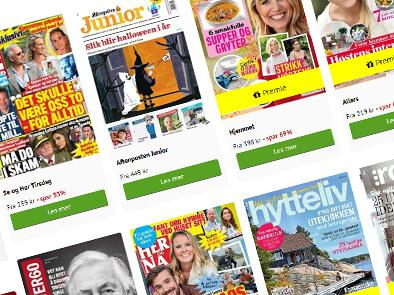 Abonnement på blad, magasin eller avis (for henne)