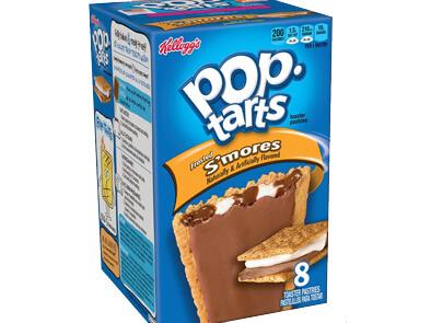 Amerikansk godteri: Kellogg's Pop Tarts S'mores