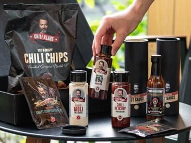 Chili Klaus Grillmaster BBQ-sett