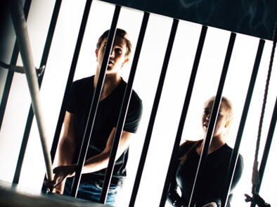 Fangene på fortet