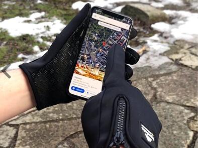 Vanntette Touchscreen-hansker