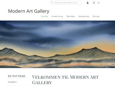 Modern Art Gallery skjermbilde