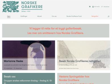 Norske Grafikere skjermbilde