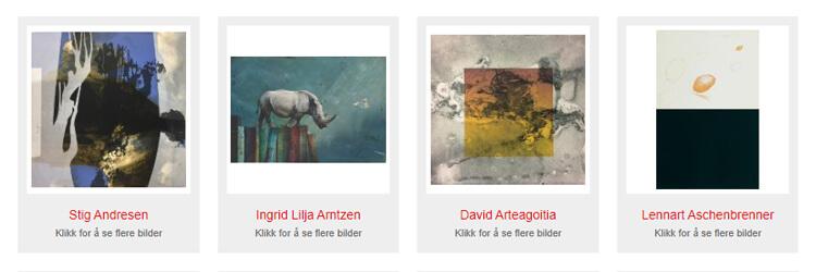 Kunstverk fra Kunstverket Galleri