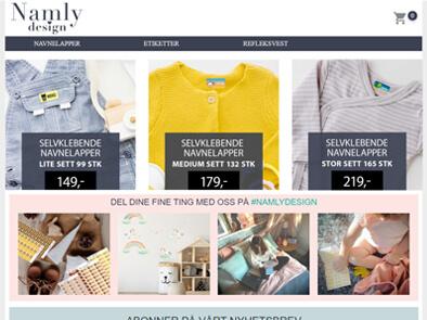 Namly Design skjermbilde