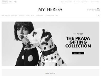 MyTheresa skjermbilde