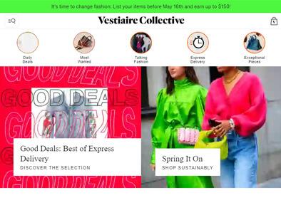 Vestiaire Collective skjermbilde