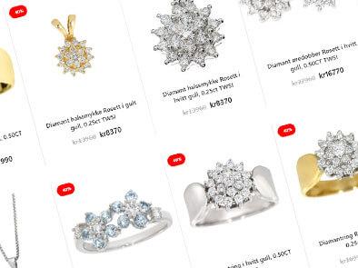 Smykker fra Diamanthuset